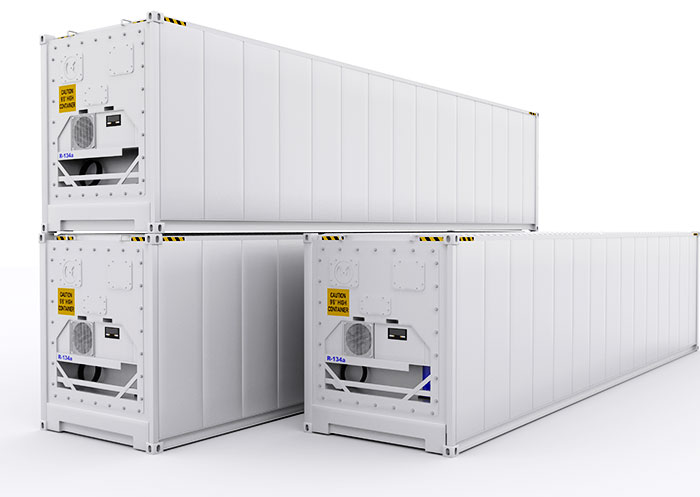 , REFRIGERATED CONTAINERS